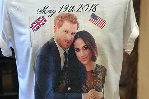 Royal Wedding 'Merchspolsion' Continues With Off-the-Wall Promotional Products