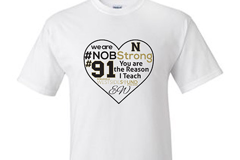 Imprinted T-Shirts Honor Teacher Who Stopped Noblesville School Shooting