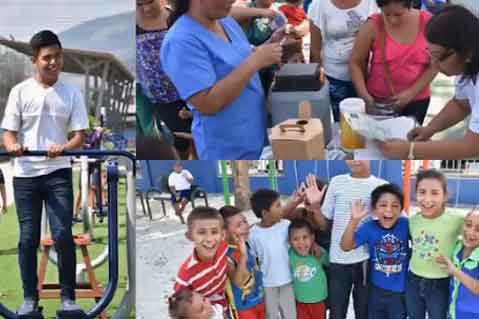 Social Responsibility: Gildan Donation Helps Refurbish Large Park in Honduras