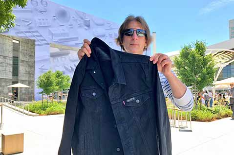 Levi's Jacket, Emoji Pins Among WWDC Promotional Products