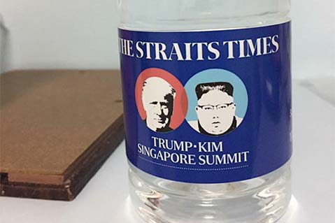 Promotional Products Part of Historic Trump/Kim Summit