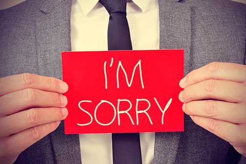 The Best Way for Brands to say 'I'm Sorry'