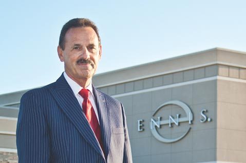 Q1 Earnings Rise But Revenue Dips For Ennis