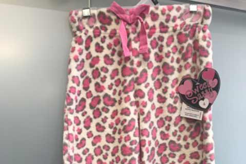 Recall On Children's Sleepwear