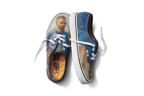 Case Study: Van Gogh Paintings Featured in New Vans Collection