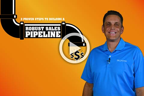 Video: 3 Proven Steps To Building A Robust Sales Pipeline