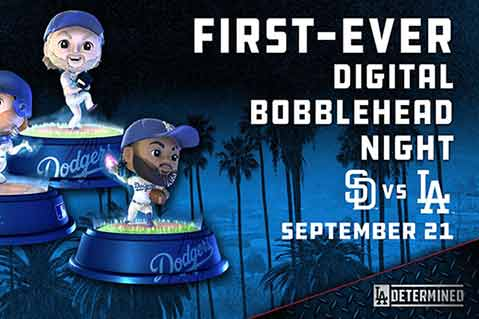 Dodgers To Make Crypto, Sports History With Digital Bobblehead