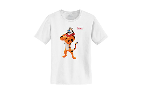 8be37ae81b6 New Branded T-shirt Collection Celebrates Tony the Tiger s Changes Over the  Decades