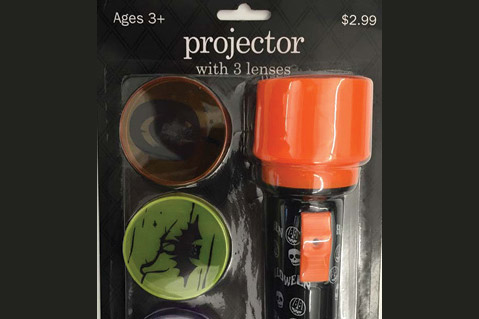 Meijer Recalls Halloween Flashlights