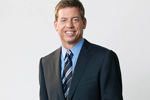 Troy Aikman Shines At ASI Dallas