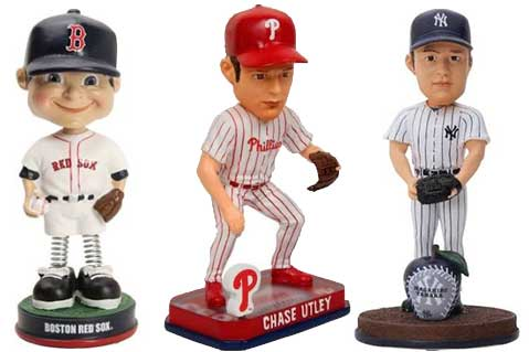 Bobbleheads Dominate MLB Promo Calendars
