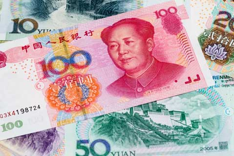 Chinese Exports Slip Amid Strong Yuan