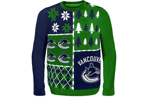 Canucks Creating Memories With Ugly Sweaters