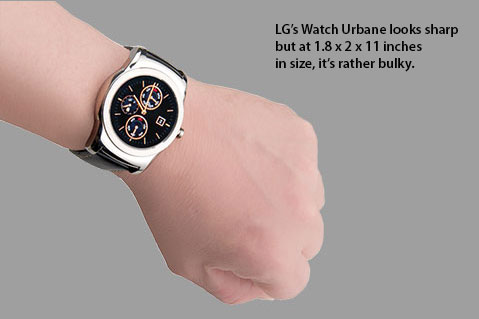 LG Inching Up with Newest Wearable