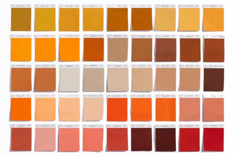 Pantone Adds 210 Colors For Fall