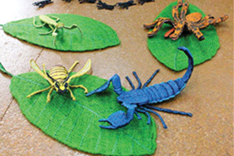 Embroidered Insects a Hit for Japanese Firm