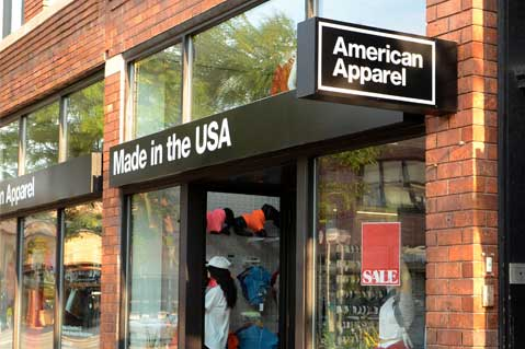 American Apparel Sued For Unpaid Bill